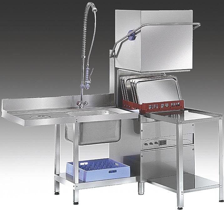 מודרניסטית מדיח כלים תעשייתי - מדיחי כלים תעשייתיים - קצב מטבחים KV-34